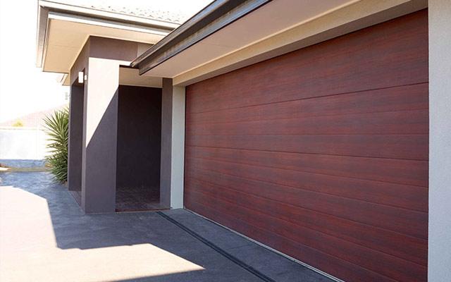 View all for Cedar clad garage doors