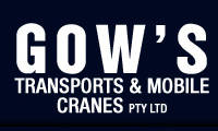 Gow's Mobile Cranes Pty Ltd logo
