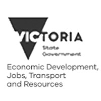 Economic Development, Jobs, Transport and Resources Department of logo