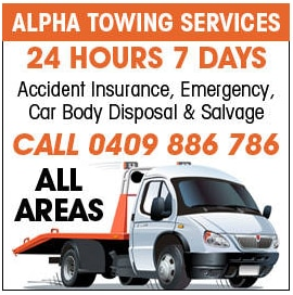 Alpha Towing Services logo