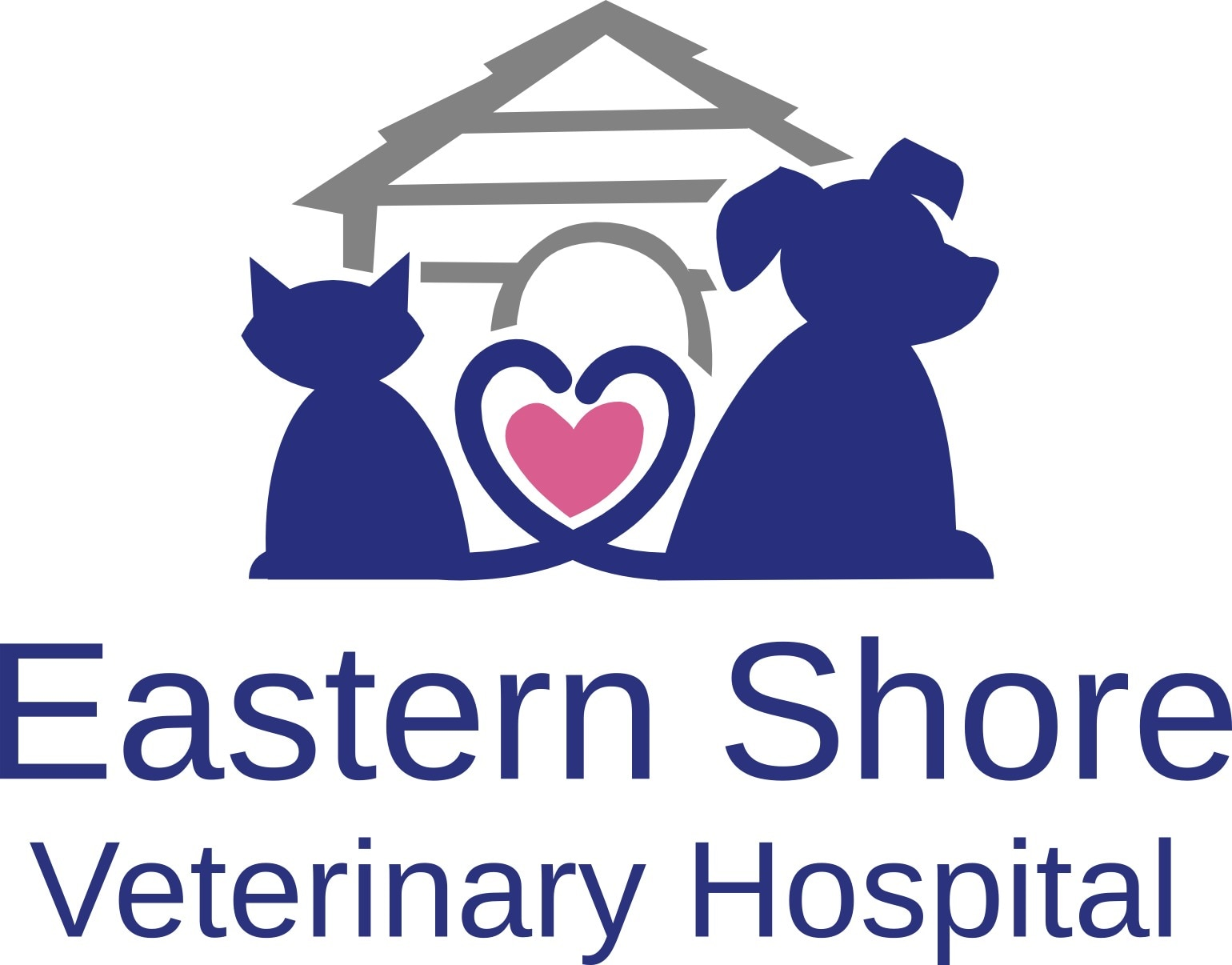 Eastern Shore Veterinary Hospital logo