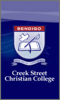 Creek Street Christian College logo